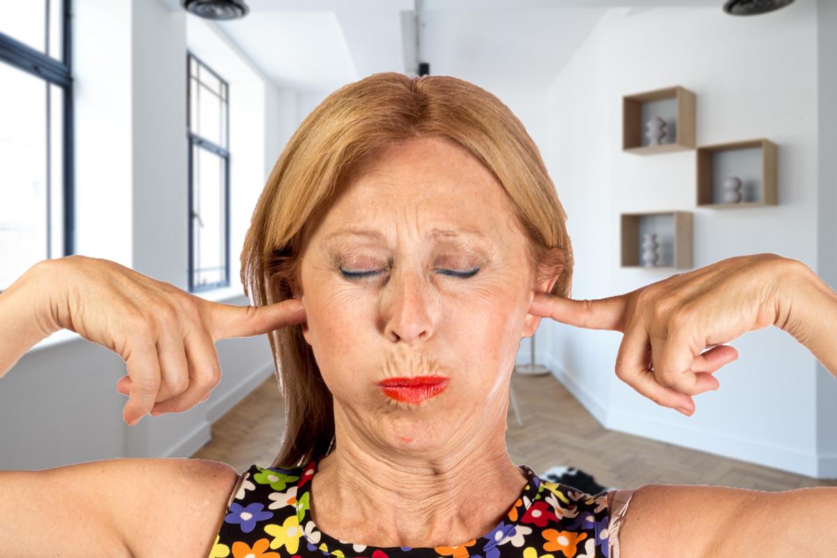 部屋の中の騒音対策
