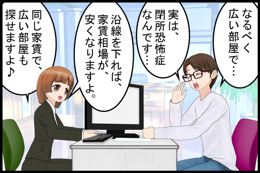 閉所恐怖症!?の巻01
