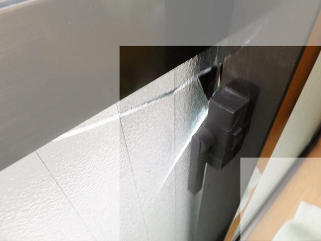 網入りガラスの侵入窃盗事件1