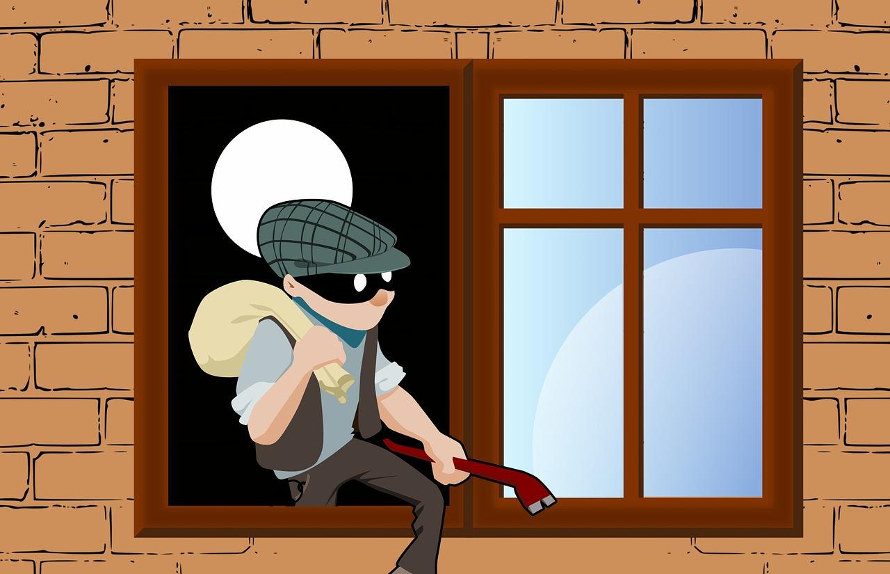 侵入窃盗犯
