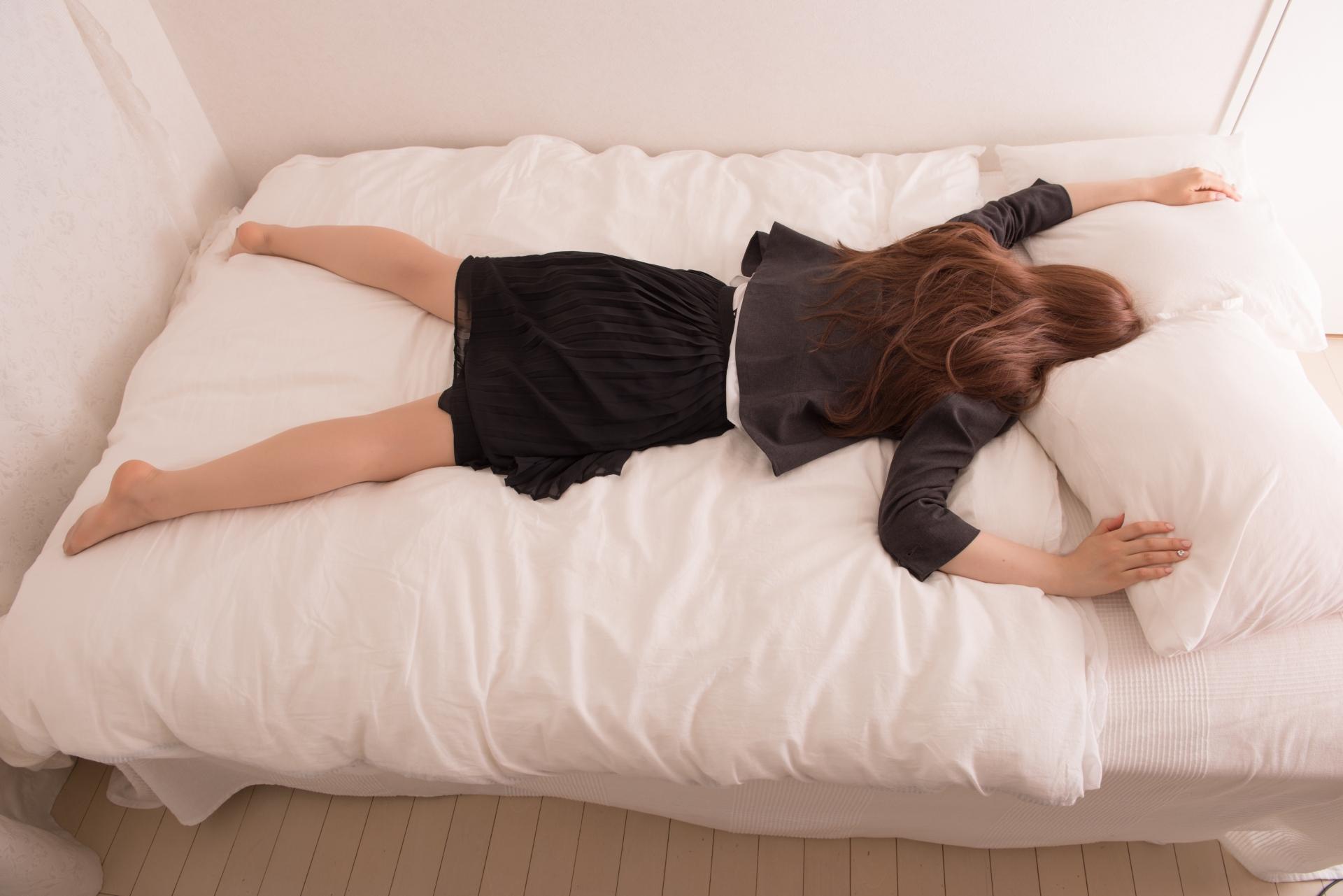 ベッドから動かずに生活可能