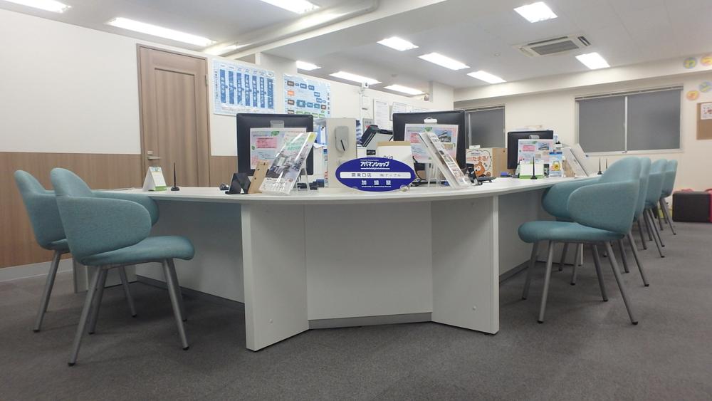 蕨東口店-店内