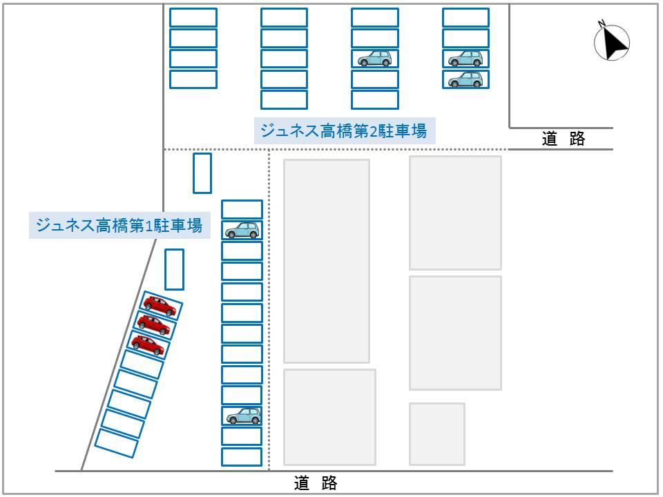 ジュネス高橋第一・第二駐車場