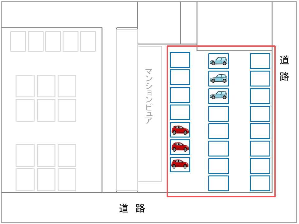 マンションピュア第一駐車場