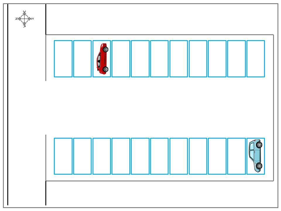ポテトパーキング駐車場配置図