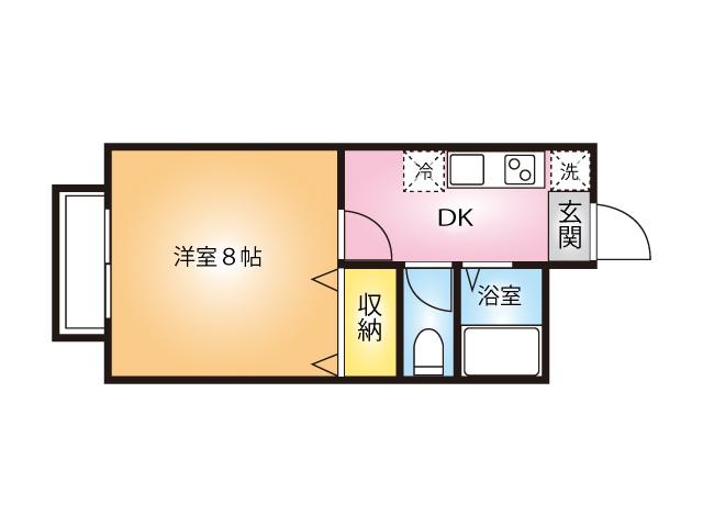日進セントラルハイツⅠ間取り図(103号室)