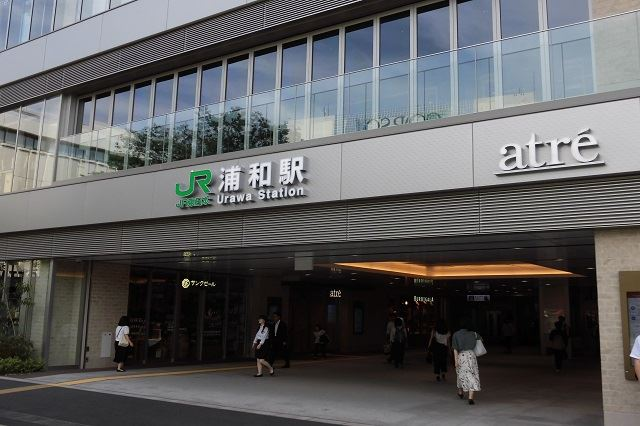 JR浦和駅(西口)